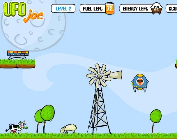 Игра UFO Joe (Джо НЛО) онлайн