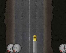Игра Безумный водитель грузовика онлайн
