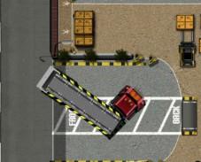 Игра Грузовик парковка онлайн