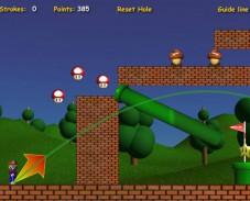 Игра Марио мини гольф онлайн