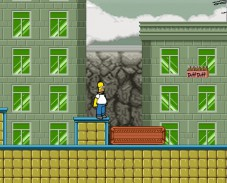 Игра Приключения Гомера Симпсона онлайн