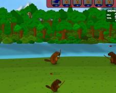 Игра Battle Beavers (Битва Бобров) онлайн