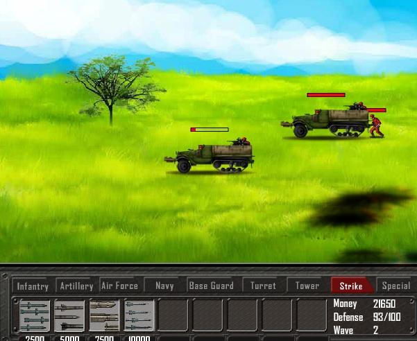 Игра Battle Gear Missile Attack онлайн