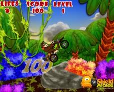 Игра Donkey Kong Motorbike онлайн