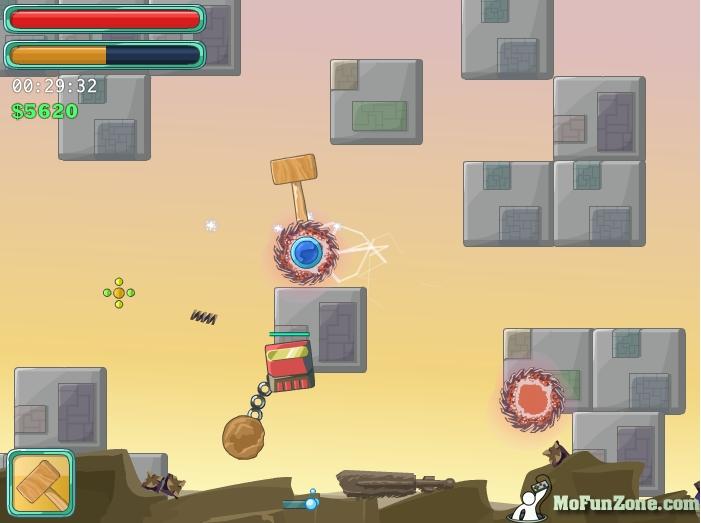 Игра Hammerball онлайн