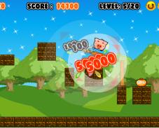 Игра Hungry Pig (Голодная свинья) онлайн