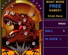 Игра Jurassic Pinball онлайн