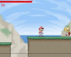 Игра Mario Combat Deluxe онлайн