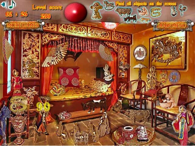 Игра Mysteries of Chinese Shop онлайн