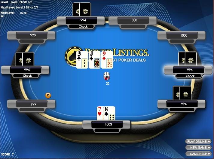 Игра Poker Listings онлайн