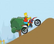 Игра Simpson Bike онлайн