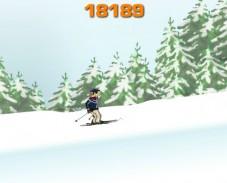 Игра Ski Tricks (Лыжные хитрости) онлайн