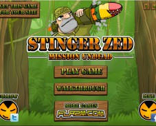 Игра Stinger Zed — Mission Undead онлайн