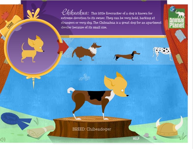 Игра Генератор собак онлайн