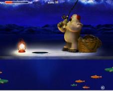 Игра Зимняя рыбалка онлайн