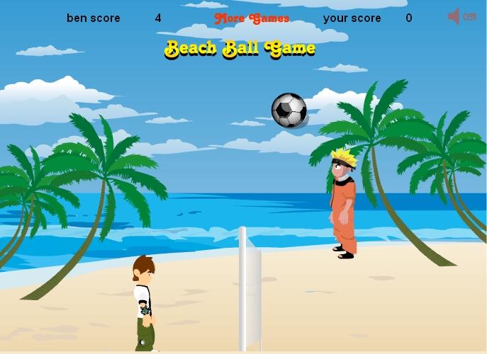 Игра Наруто и Бен 10 онлайн