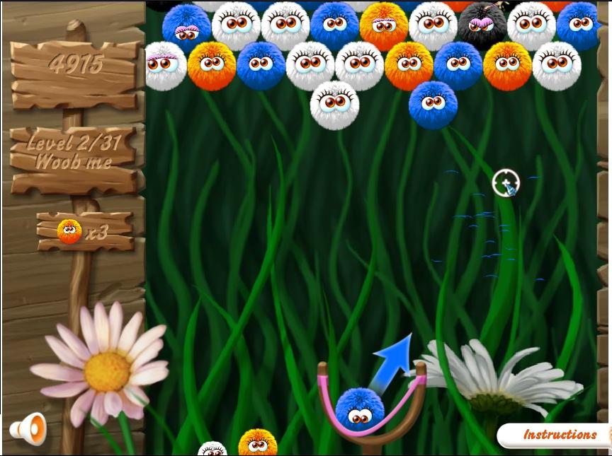 Игра Пушистики онлайн