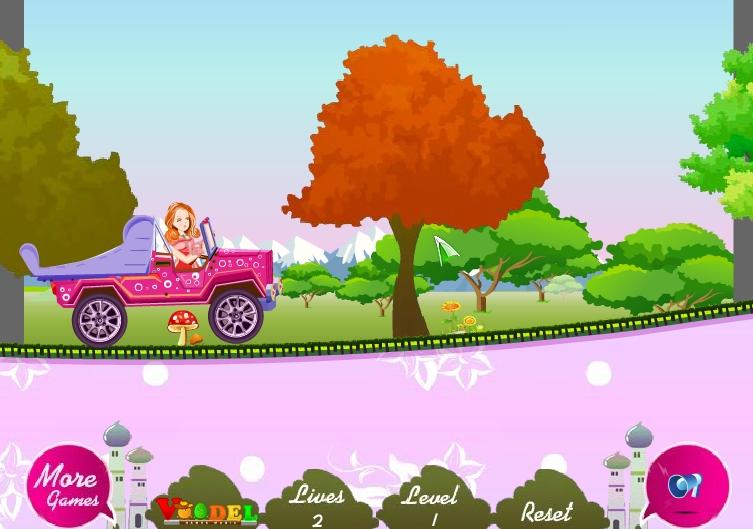 Игра Barbie Transport онлайн