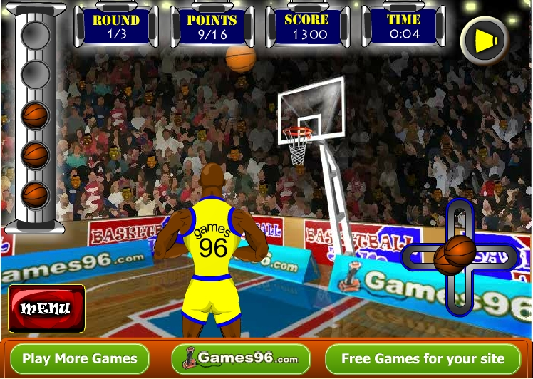 Игра Basketball Jam онлайн