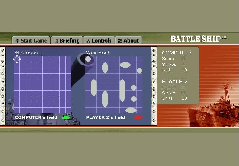 Игра BattleShip онлайн