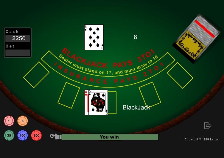 Игра Black Jack 6 онлайн