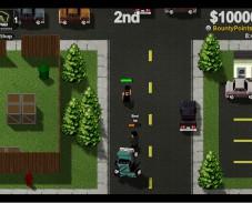 Игра Boxhead Bounty Hunter онлайн