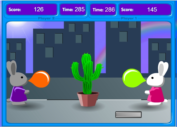 Игра Bunny Bloony онлайн