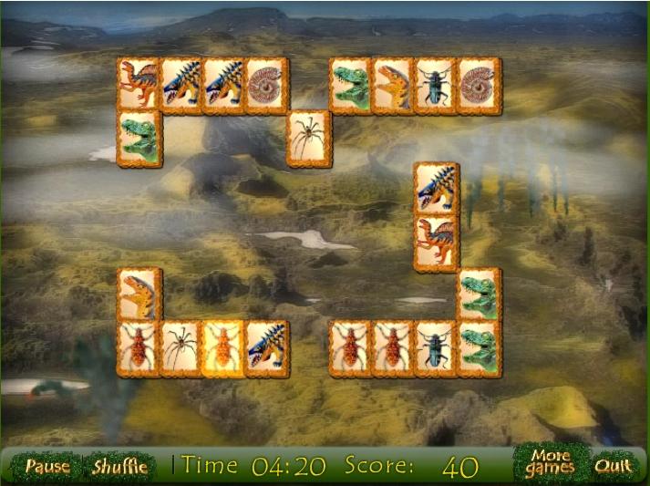 Игра Chalk Period Mahjong онлайн