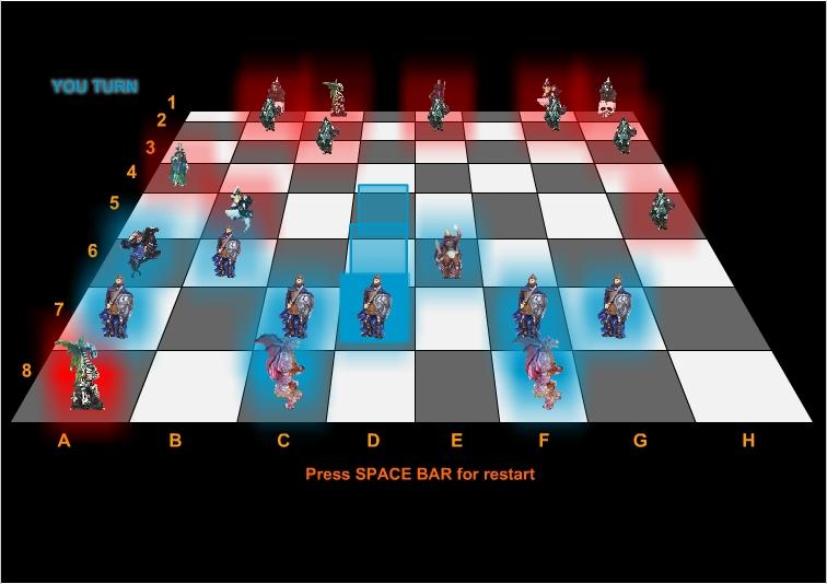Игра Dark Chess 3D онлайн