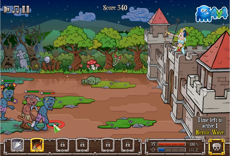 Игра Defend The Castle онлайн
