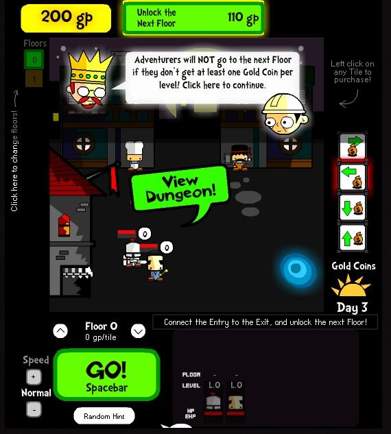 Игра Dungeon Developer онлайн
