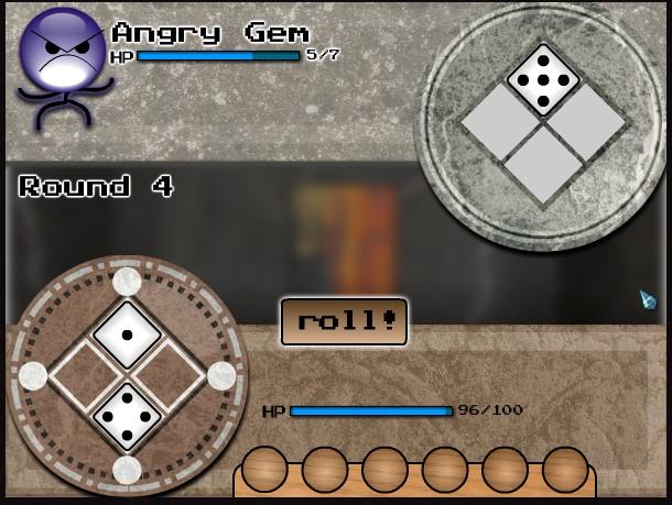 Игра Dungeon Dice онлайн
