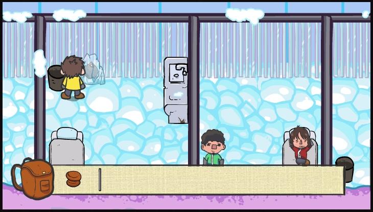Игра Escape from ice mountain онлайн