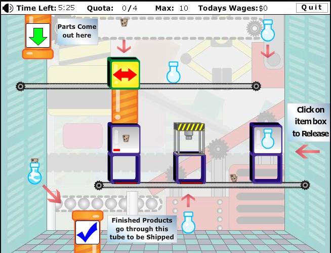 Игра Factory Redux онлайн