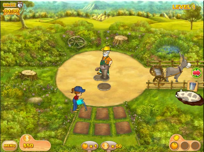 Игра Farm Mania 2 онлайн