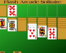Игра Flash Arcade Solitaire онлайн