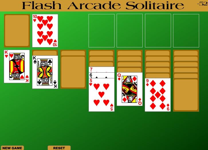 Игра Flash Arcade Solitaire онлайн
