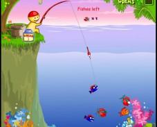Игра Funny Fishing онлайн