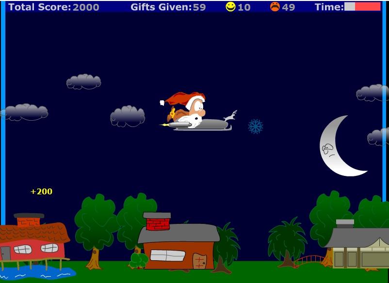 Игра Good luck Santa! онлайн