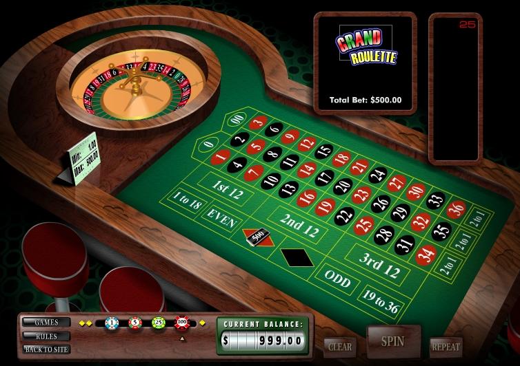 Игра Grand Roulette онлайн