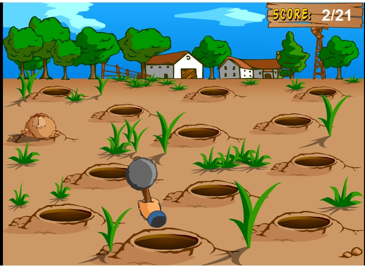 Игра GroundHog онлайн