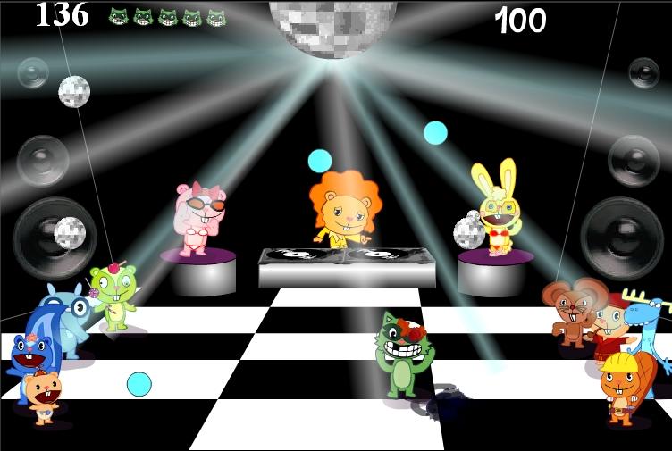 Игра Happy Tree Friends Crasy Disco Nr.5 онлайн