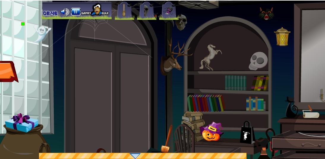 Игра Hidden Objects Halloween онлайн