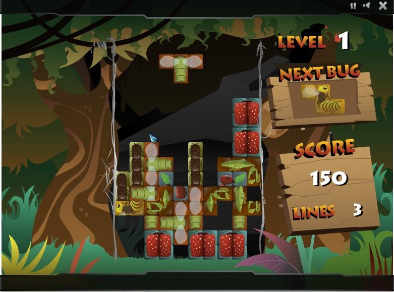 Игра Insectris онлайн