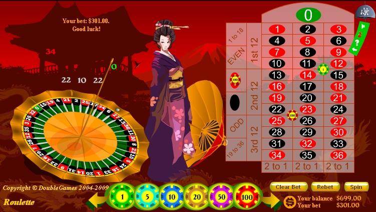 Игра Japanese Roulette онлайн