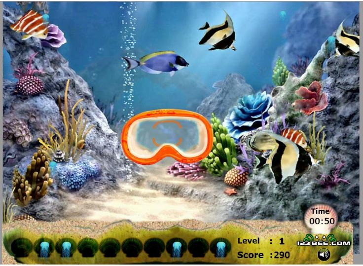 Игра Jelly Fish Sniper онлайн