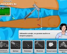 Игра Leg Surgery онлайн