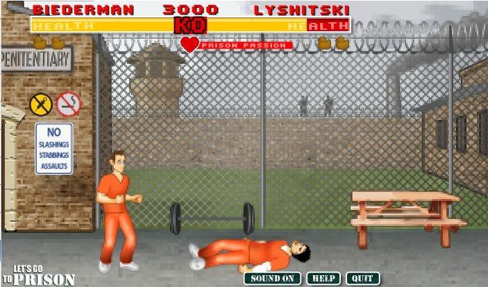 Игра Let's go to prison онлайн