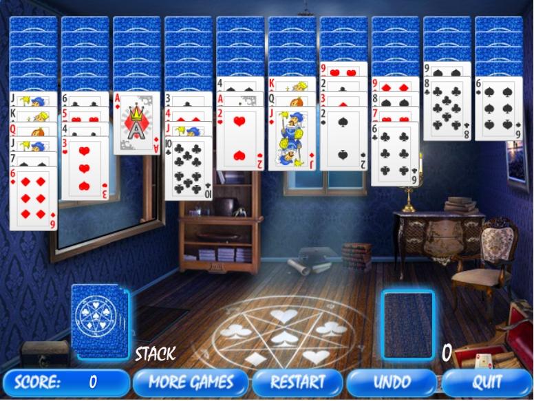 Игра Magic Room Solitaire онлайн