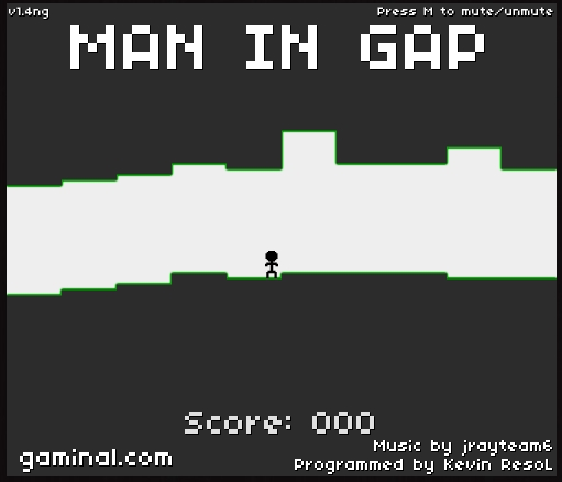 Игра Man in Gap онлайн